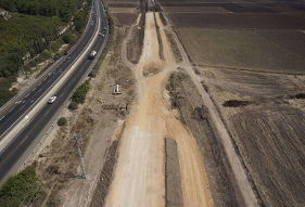 דניה סיבוס - מסילת עכו כרמיאל קטע 2