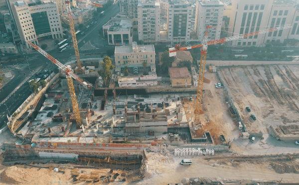 דניה סיבוס - קריית הממשלה המחוזית ירושלים